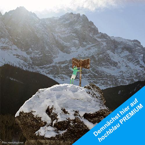 Ob in Österreich oder in Deutschland. Die Region um die Zugspitze bietet faszinierende Wintererlebnisse. | Foto: Hans-Jörg Ernst